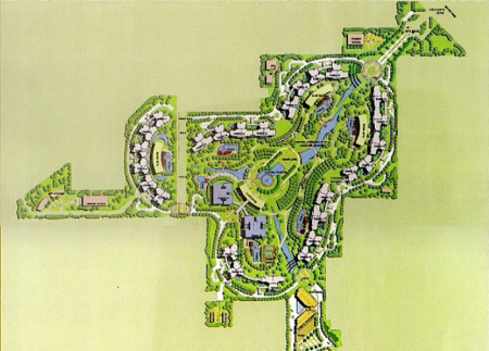 Central Park 2 Gurgaon layout plan