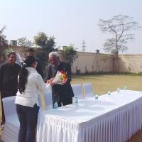 Visit of MLA Shri Rao Dharam Pal